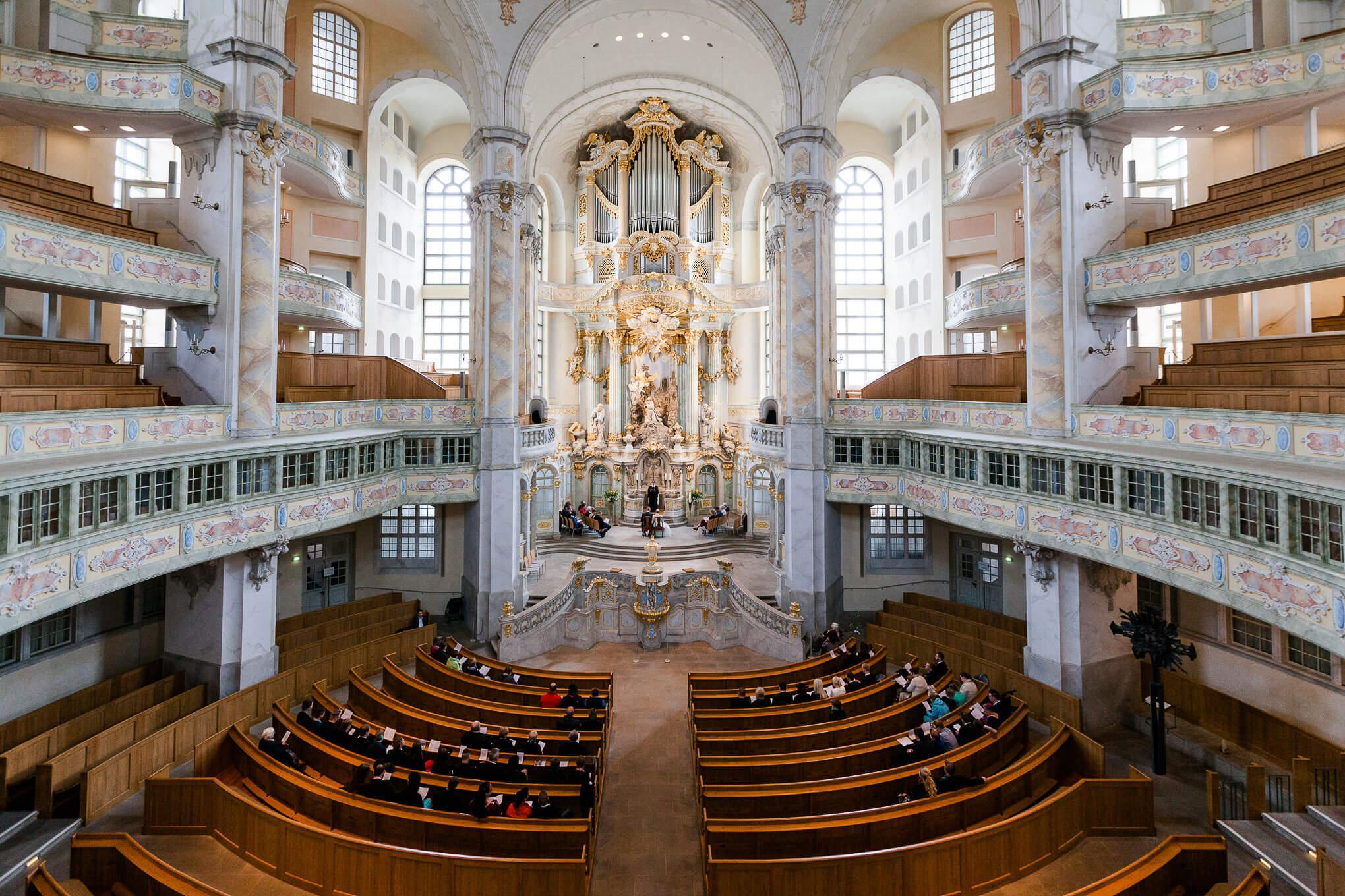 Hochzeitsfotos Dresden Frauenkirche