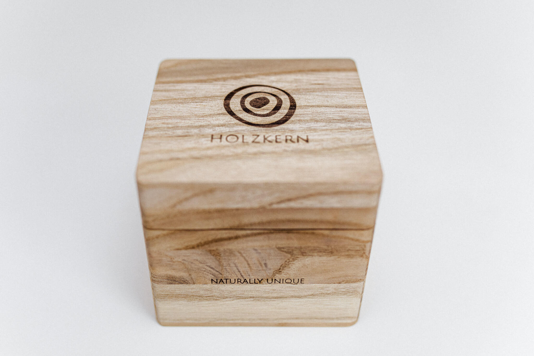 Holzkern Verpackung